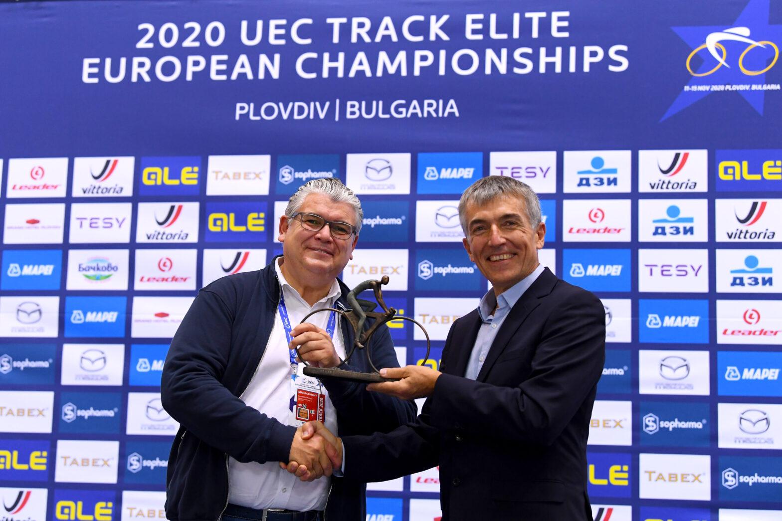 Изборът на Драгомир Кузов в УС на UEC е признание за българското колоездене