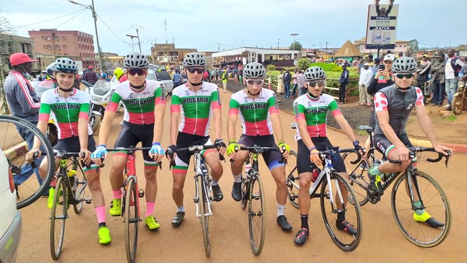 Борислав Иванов и Лъчезар Ангелов финишираха първи и втори в IV етап на Tour du Cameroun 2021