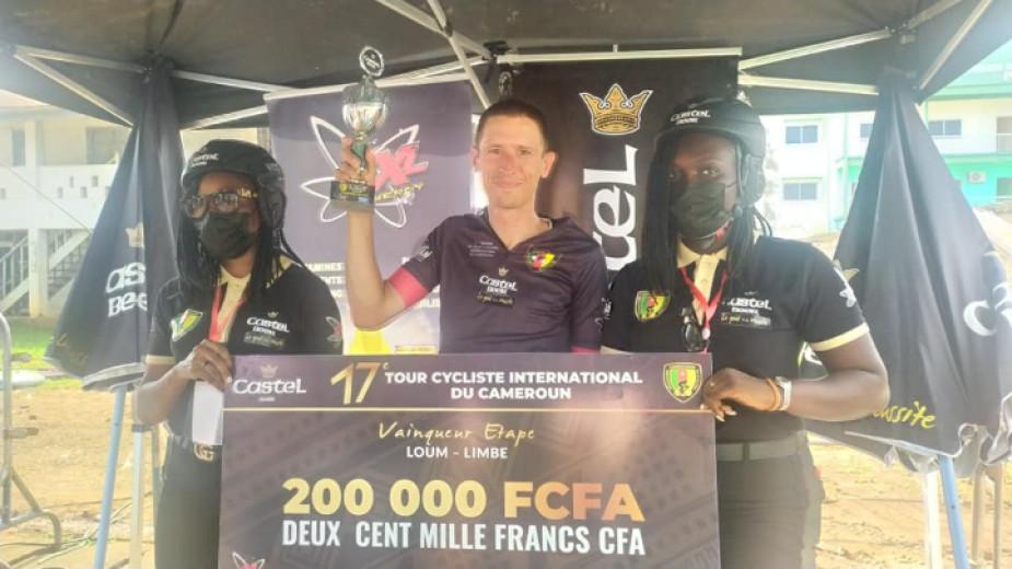 Втора поредна победа за Борислав Иванов на Tour du Cameroun 2021